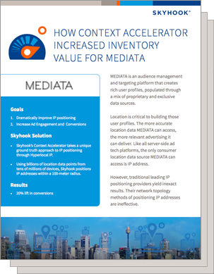 MEDIATA increased advertising inventory value, boosting conversions by 20%