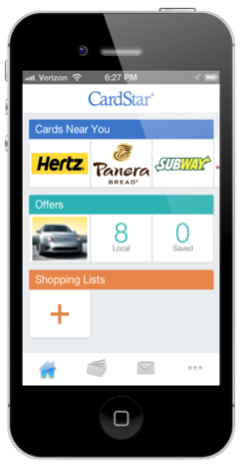 Cardstar geofencing for mobile apps - scale for national brands